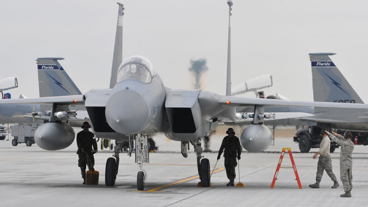 Florida Air Guard F-15C Eagles To Deploy To Russia's Doorstep