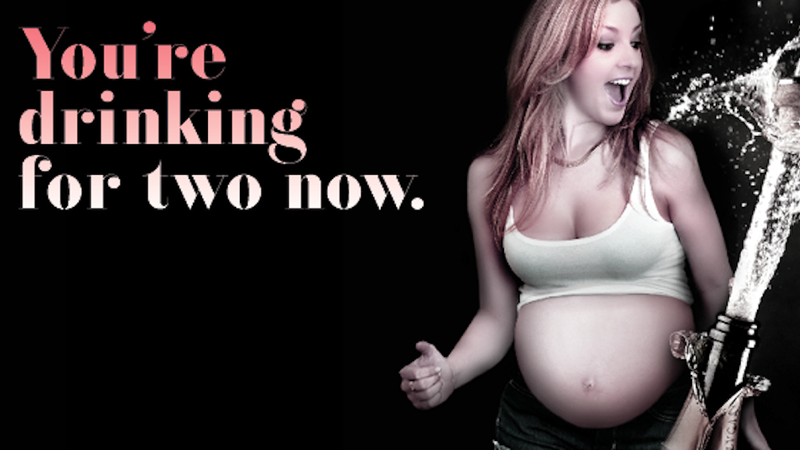 Illustration for article titled This Fake 'Bar for Pregnant Women' Is So Stupid