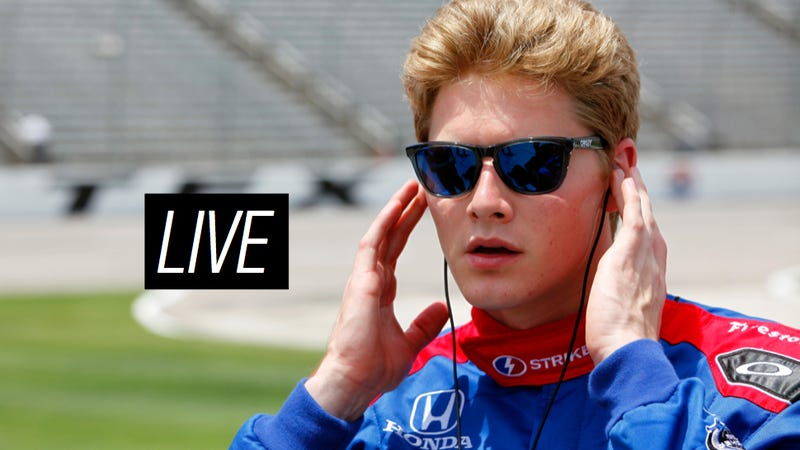 Illustration for article titled Ask IndyCar Star Josef Newgarden Anything