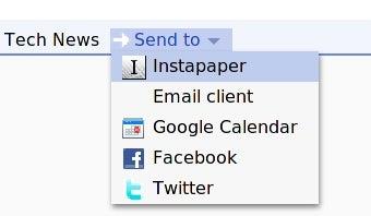"""Illustration for article titled More Google Reader """"Send To"""" Tricks"""