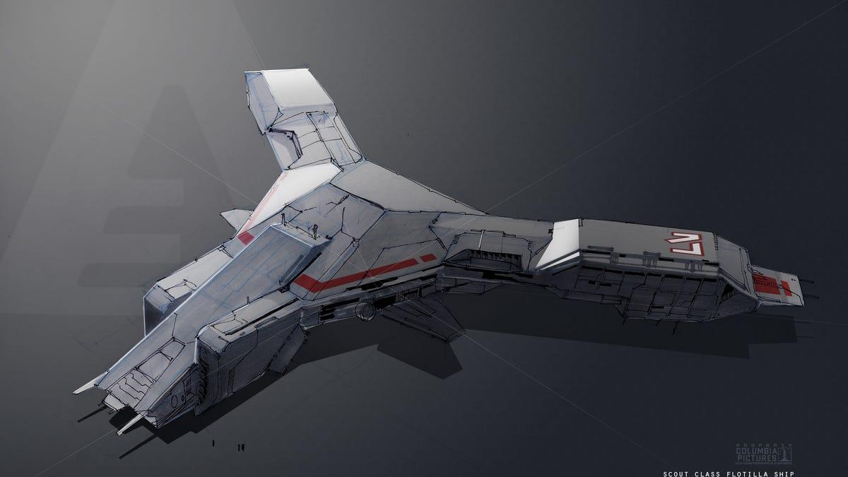 Conceptual spaceships of the future (photos) 3