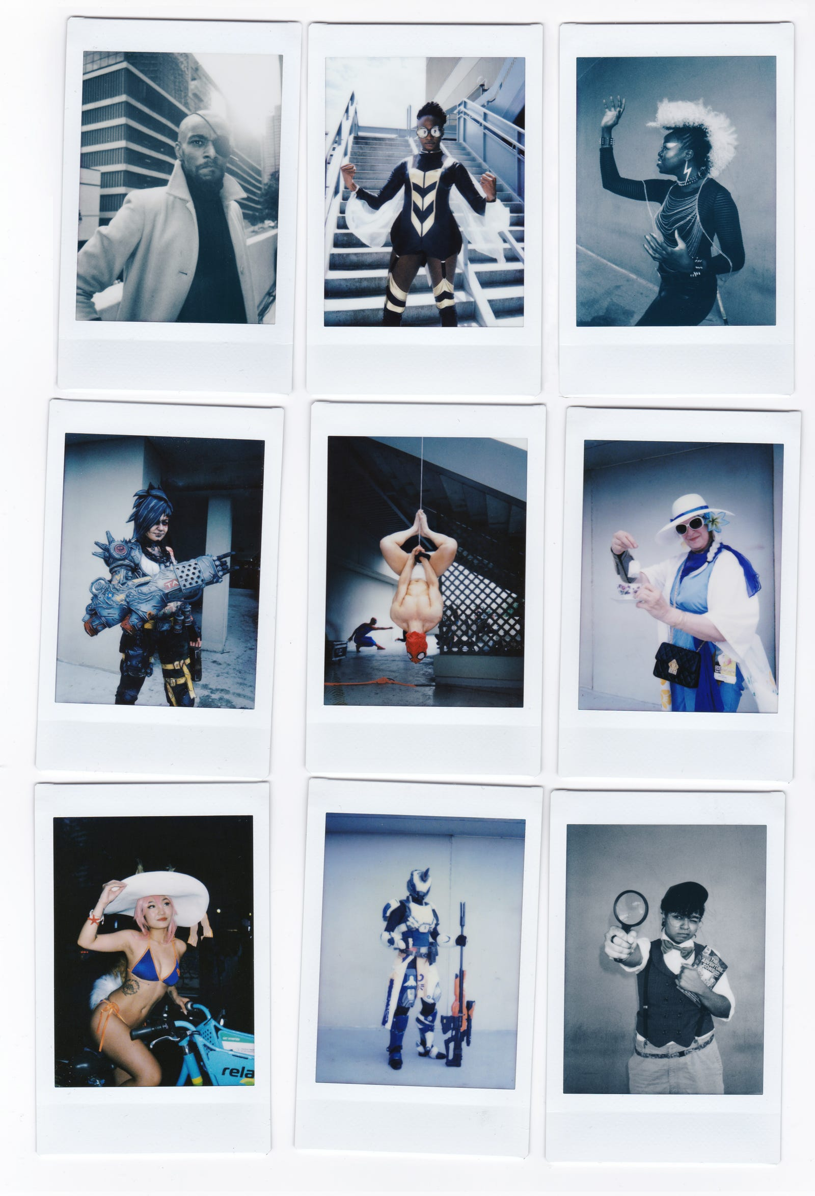Cosplay Looks Totally Different Through The Lens Of An Instant Camera