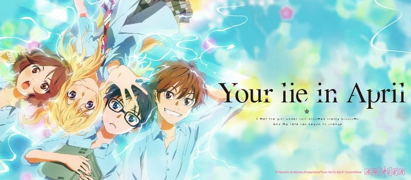 your lie in april stream