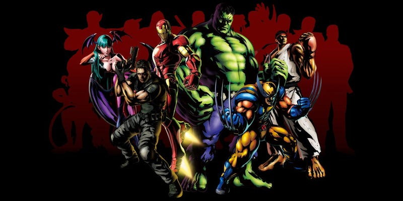 """Illustration for article titled Marvel Vs. Capcom 3 Will Be a """"Living Comic"""" With A Deep Story"""