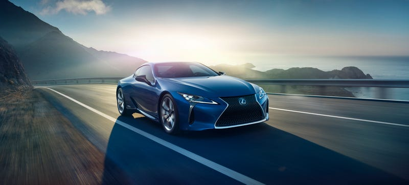 Illustration for article titled Lexus Couldn't Resist Giving The Hot LC 500 Coupe A Hybrid Version Too