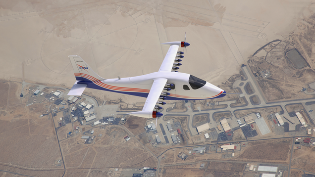 NASA's Experimental Electric Airplane Edges Closer to Its First Flight