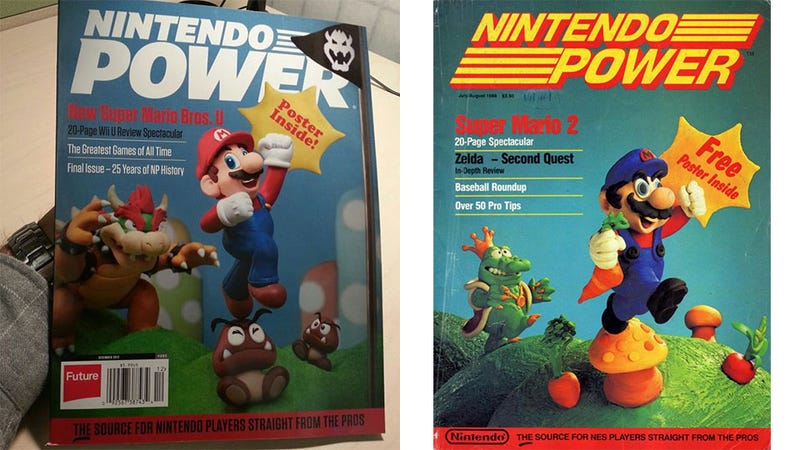 Illustration for article titled The Final Nintendo Power Cover is Awesomely Nostalgic