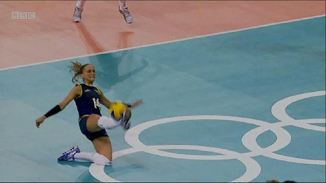 This Is The Coolest Volleyball Play We've Ever Seen