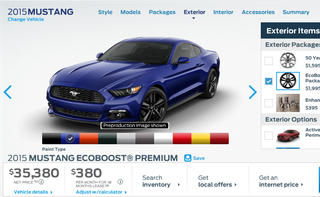 Illustration for article titled How You'd Option Your 2015 Ford Mustang