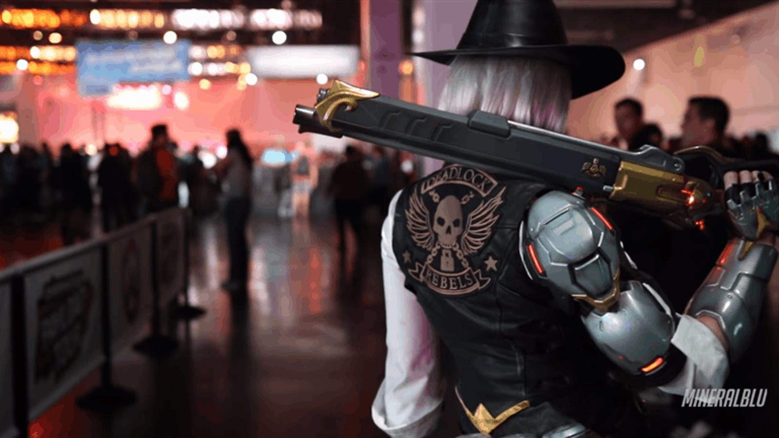 There's Official Cosplay Of The Newest Overwatch Hero, Ashe