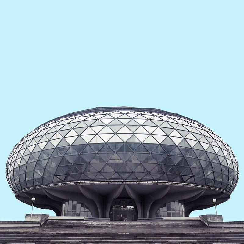 These photos of belgrade 39 s socialist architecture look like ancient spaceships - Futuristische architektur ...