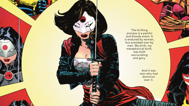 The Other History of the DC Universe Sheds a Crucial Light on Katana s Interior Life