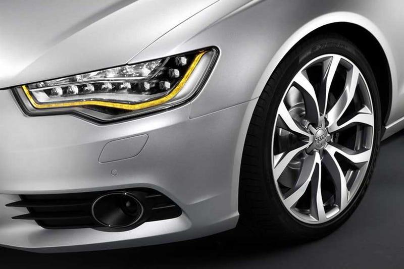 Illustration for article titled 2012 Audi A6: Aluminum Und Eyeliner