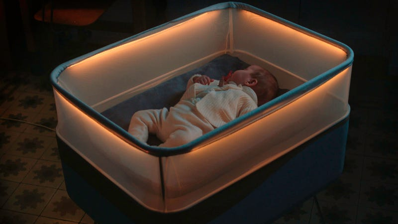 Illustration for article titled Ford Came Up With The Most Genius Solution For Getting Your Baby To Fall Asleep
