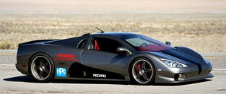 Illustration for article titled Snow Day: SSC Ultimate Aero TT Not As Ugly As We Thought