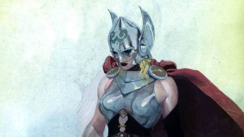 Illustration for article titled This week's issue of Thor will reveal her secret identity (as will this article)