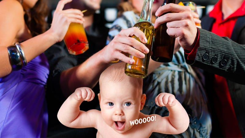 Illustration for article titled How Do I Tell a Friend to Stop Bringing Her Cockblocking Baby to Bars?
