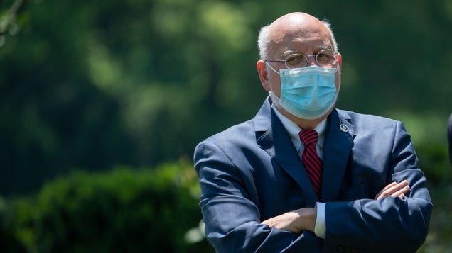 Report: CDC Director Dr. Robert Redfield Concerned Trump Admin Has It Out for Him