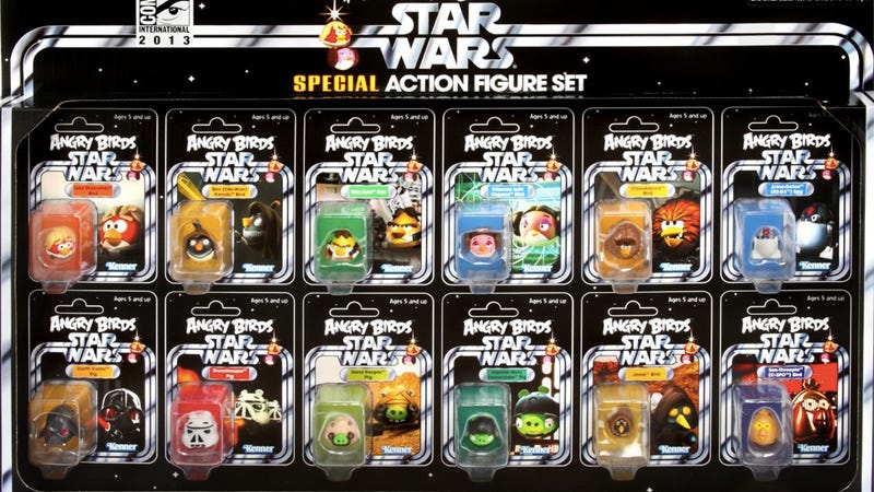Angry Birds Star Wars Toys : Angry birds star wars toys figures series youtube