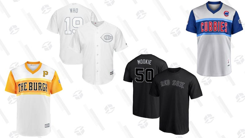 Illustration for article titled MLB's Nickname-Adorned Players' Weekend Jerseys Are Up For Preorder