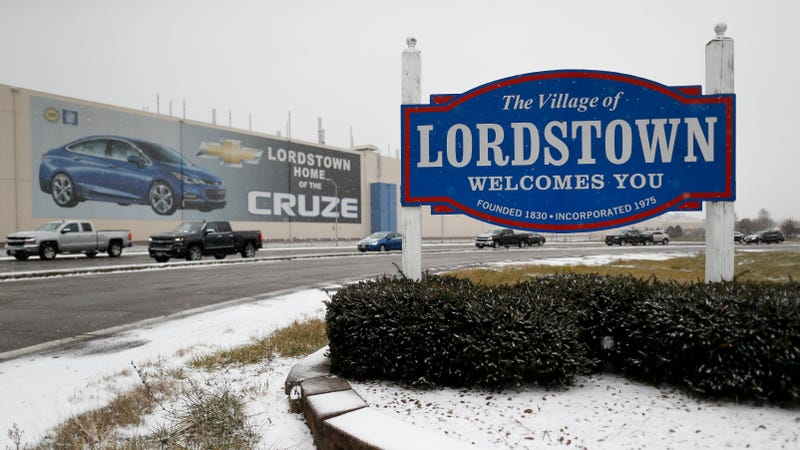 Illustration for article titled GM's Lordstown Plant Closes This Wednesday