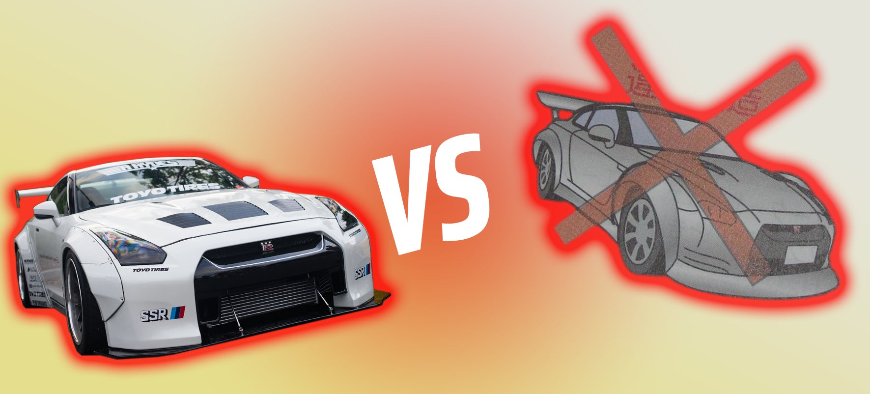 remember when nissan told people not to modify the gt r rh jalopnik com Nissan Sentra GTR Body Kit Ferrari 458 Italia Interior