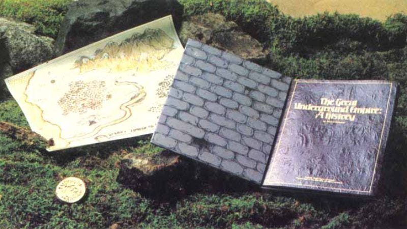 "The ""feelies"" that came packed with the original Zork (Photo: The Infocom Gallery)"