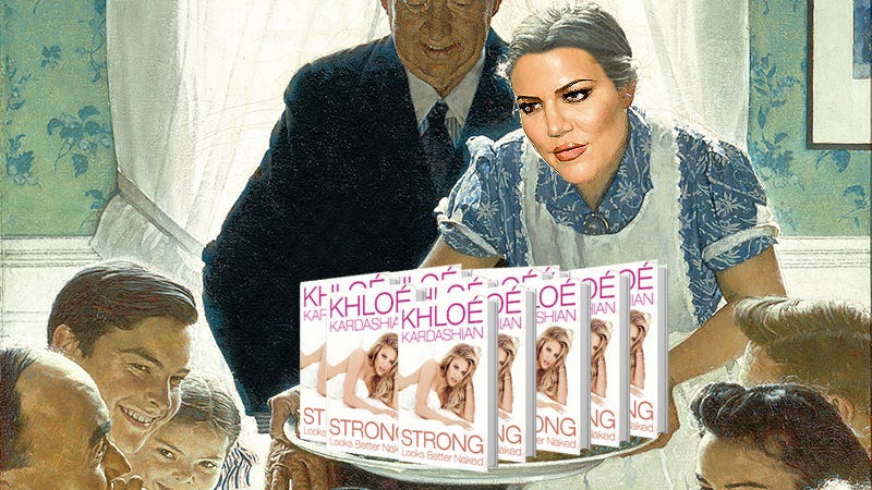Illustration for article titled Khloé Out of Quarantine Just In Time to Maybe Host a Very Staphy Thanksgiving