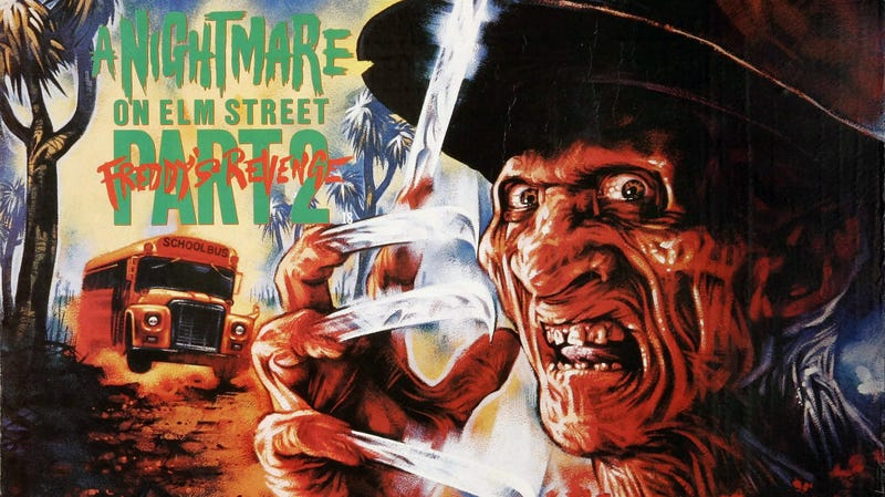 Nightmare On Elm Street 2: Freddy's Revenge, a film often analyzed for its queer subtext.