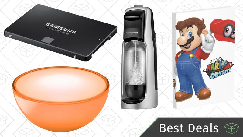 Illustration for article titled Sunday's Best Deals: SSDs, SodaStream, Philips Hue, and More