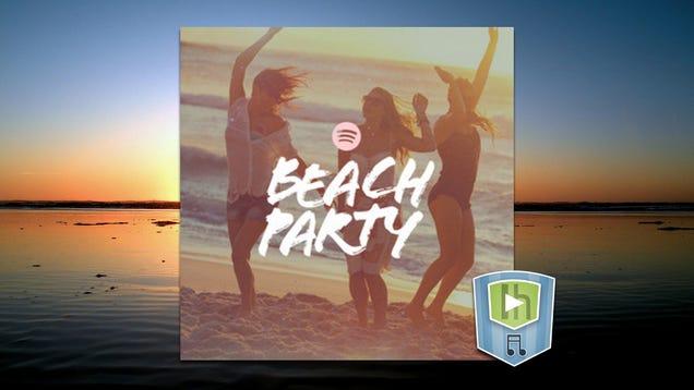 The Beach Party Playlist