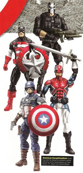 Illustration for article titled Captain America Action Figure