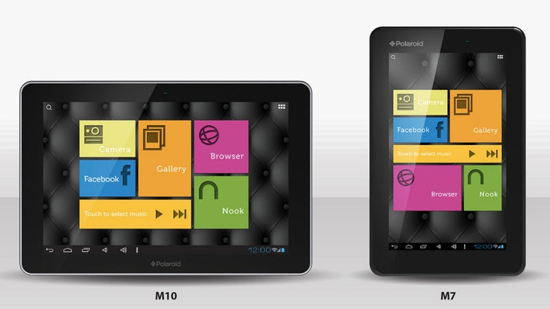 Illustration for article titled Polaroid's New Android Tablets Might Give Nexus Some Stiff Competition