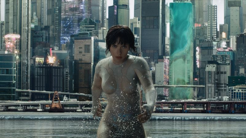 Ghost In The Shell (Photo: Paramount)