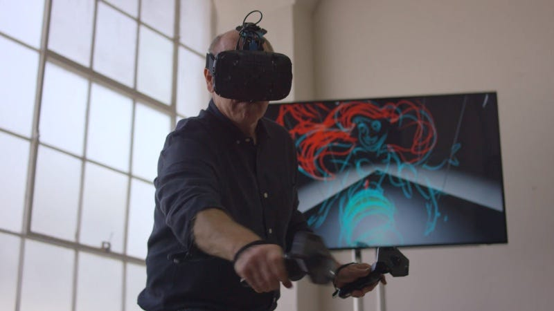 Illustration for article titled Watch Disney Artist Glen Keane Draw the Little Mermaid in Virtual Reality