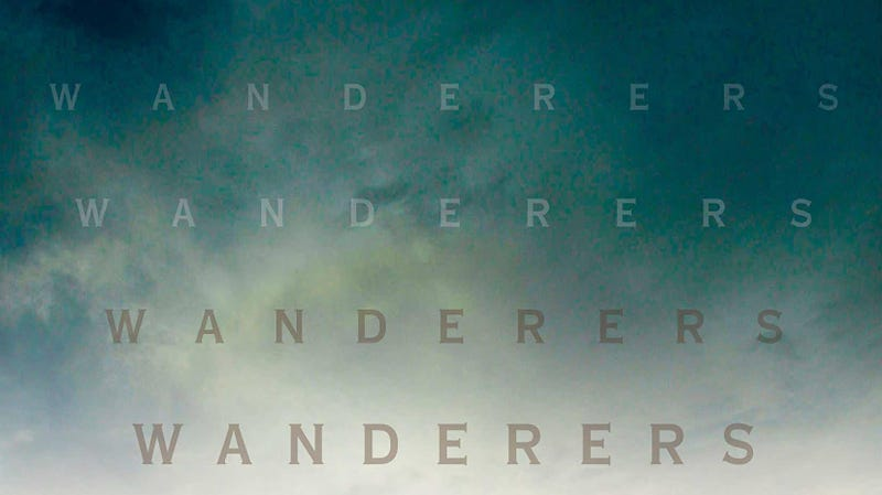 A crop of the cover of Chuck Wendig's Wanderers.