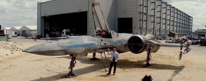 Illustration for article titled Así lucen los X-Wing del Episodio VII de Star Wars