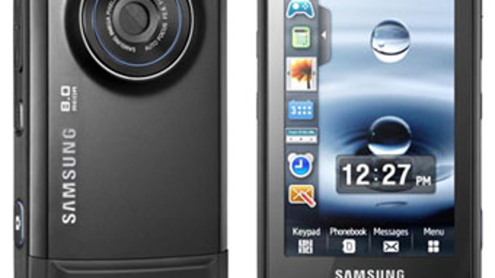 Samsung Pixon May Be First 8MP US Camera Phone