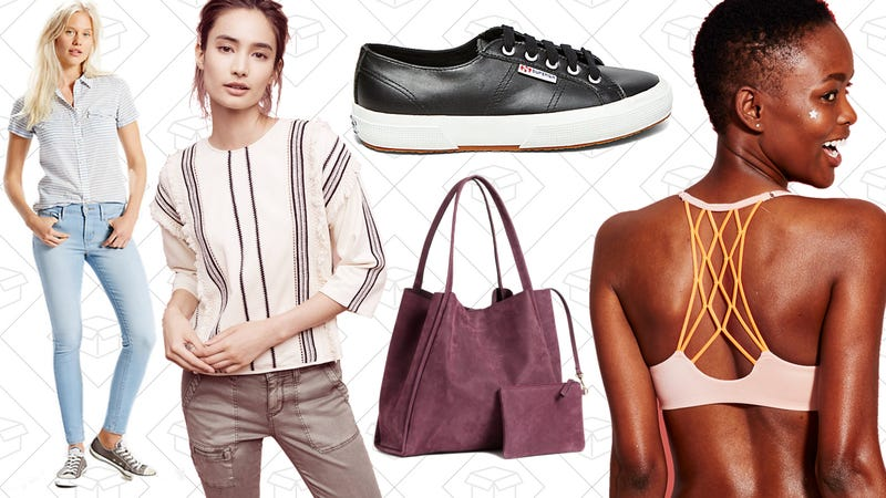 Illustration for article titled Today's Best Lifestyle Deals: Uniqlo, H&M, Anthropologie, Superga, Levi's, and More