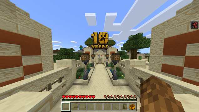 Minecraft's New 10th Anniversary Map Is Awesome And Hides A