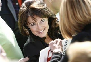 GOP and Tea Party darling Sarah Palin