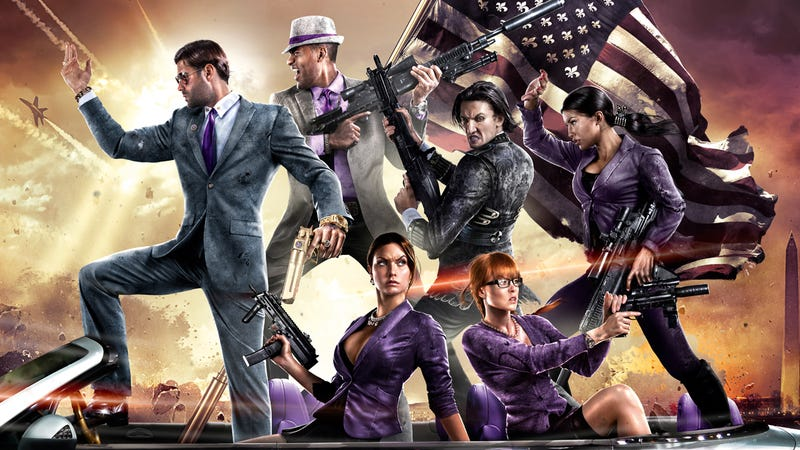 Illustration for article titled Saints Row 4: for when you just want to laugh and blow shit up...