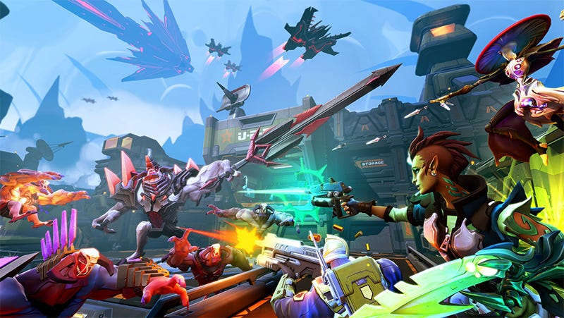 Illustration for article titled Battleborn Players Rally To Save The Game On Battleborn Day, November 12