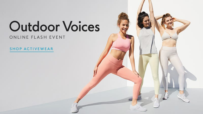 Outdoor Voices Flash Event | Nordstrom Rack