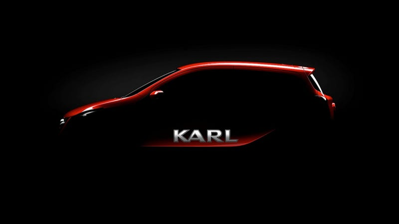 Illustration for article titled Opel Is Building A Car Called 'Karl'