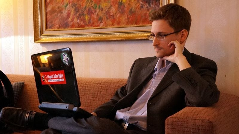 Edward Snowden (Photo: Getty Images, Barton Gellman)