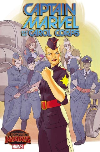 Illustration for article titled Captain Marvel And the Carol Corps Coming Soon!