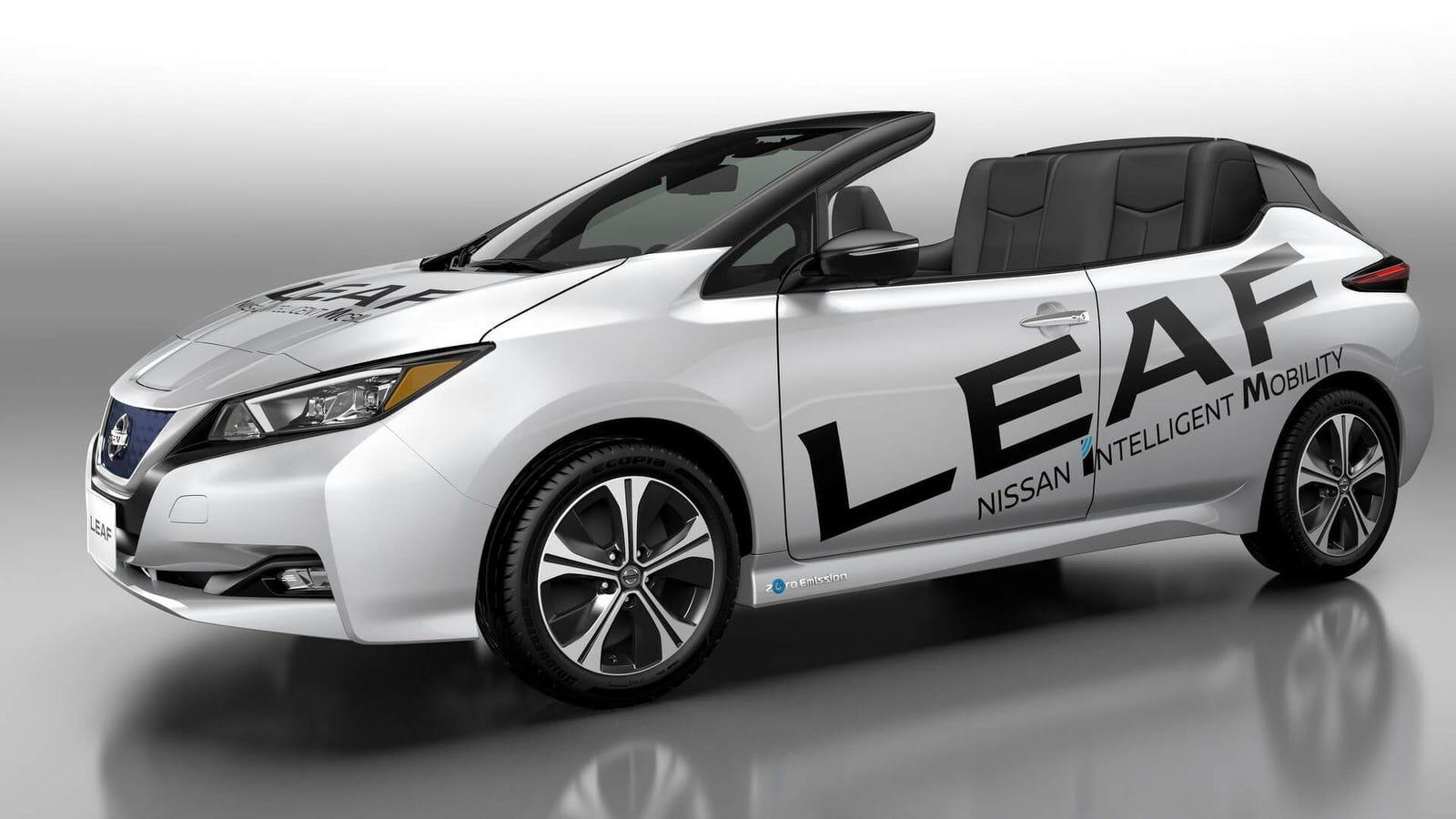 Nissan Leaf Convertible: Good