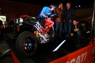 Illustration for article titled Beverly Hills Ducati Hypermotard