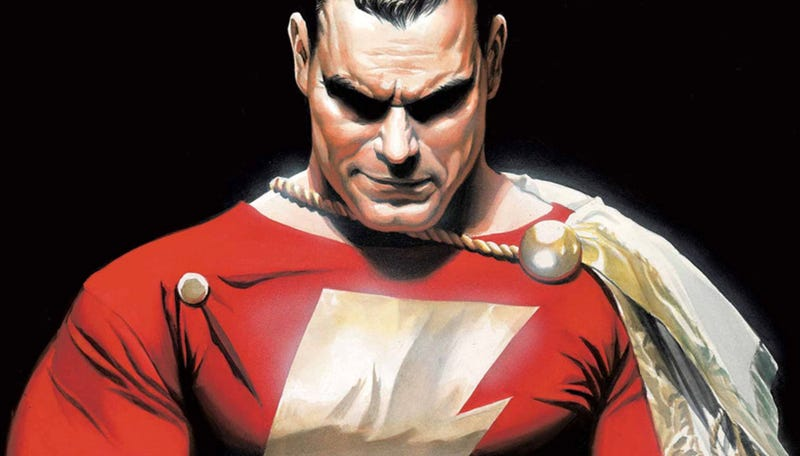 Shazam by Alex Ross. Image: DC Comics